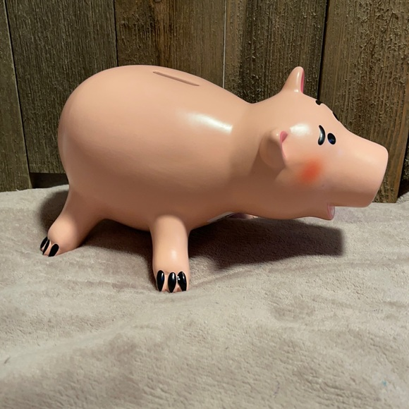 Hamm piggy bank from toy story